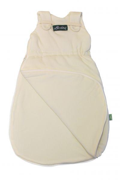Lotties Naturbelassener Interlock Schlafsack Bambini aus Bio Baumwolle