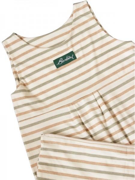 Lotties Leichter Sommerschlafsack mit Streifen und Verlängerung