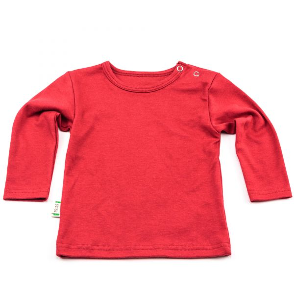 "Baby-Shirt ""Rot uni"" Rot uni 50/56"