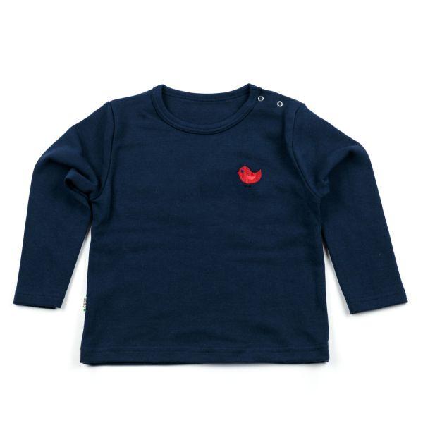 Langarm-Basic-Shirt