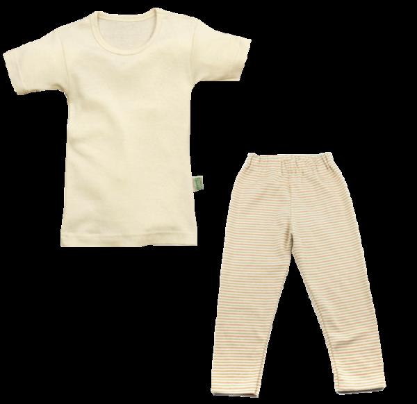 BIO Schlafanzug 2-teilig kurzarm