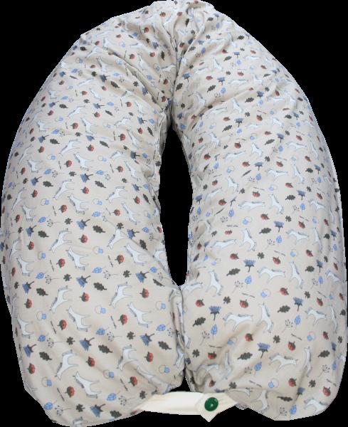 Kollektion Nicki  - Lotties Hochwertiges leichtes Stillkissen mit Bio Maisvlies Füllung