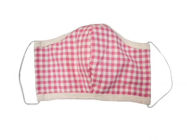 Ergonomische Gesichtsmaske aus Baumwolle Caro Rosa 2er Pack