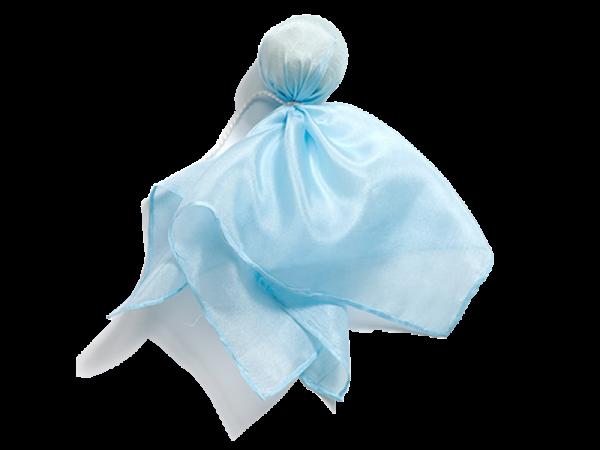 Seidenpüppchen Blau