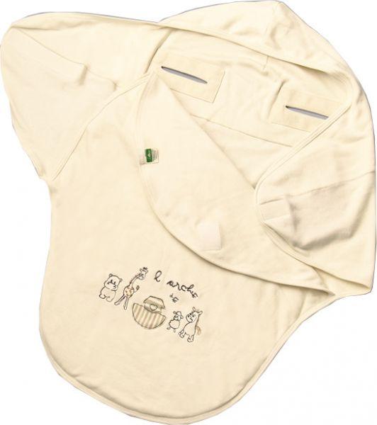 Einschlagdecke Arche Noah aus reiner Bio Baumwolle